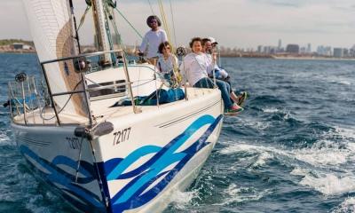 צמצום מפרשים ביאכטה