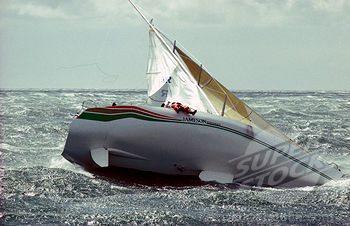 התהפחות יאכטה - גבול נפנוף מפרשים ובטיחות שייט