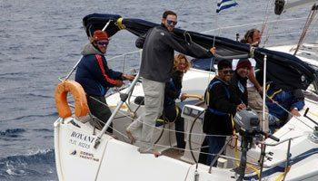 הפלגה ליוון - פלוטילה ליוון 2014