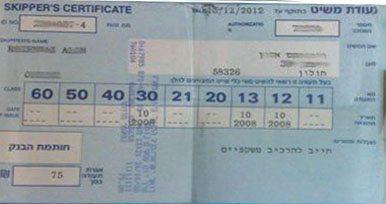 רישיון משיט 30 - קורס סקיפרים לקבלת רישיון משיט בבית ספר לשייט בלו ווייב
