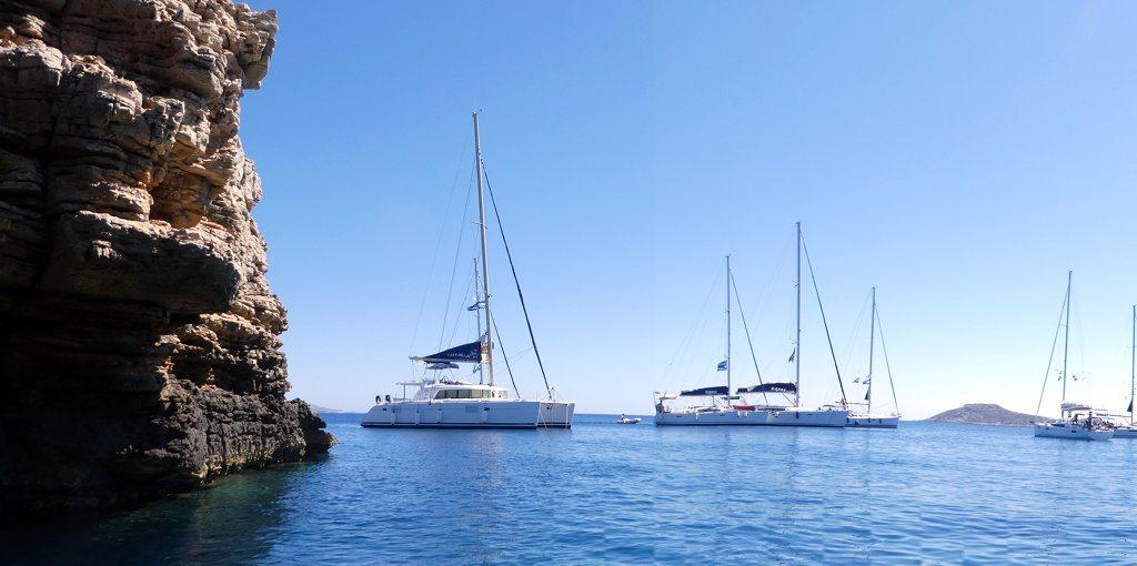 קטמרן במפרץ - פלוטילה 2016 יוון