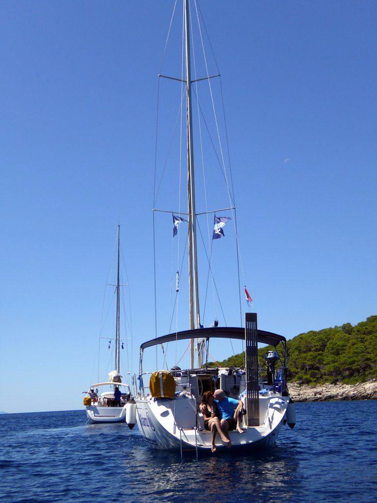 הפלגה לקרואטיה - פלוטילה 2014